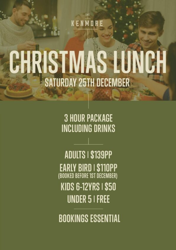 The Kenmore Christmas Lunch