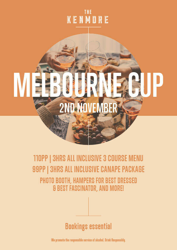 The Kenmore Hotel Melbourne Cup